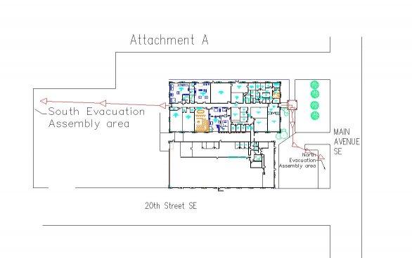 Building Evacuation Map